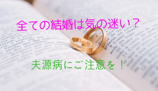 林先生が驚く初耳学【全ての結婚は気の迷い】夫源病で離婚の危機?!